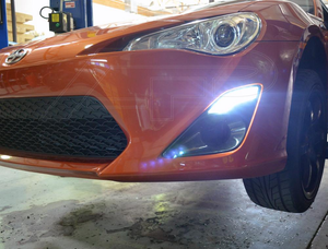 Agency Power Carbon Fiber Brake Ducts with DRL LED Lights Toyota GT-86 | Scion FR-S 13-18
