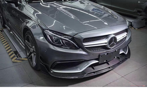 Agency Power Carbon Fiber Bumper Canards Mercedes C63 W205