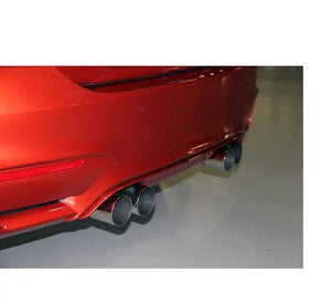 Dinan Free Flow Stainless Exhaust with Black Tips for BMW F80 M3 F82 F83 M4