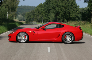 Novitec Add-on Skirts for Side Skirt Panels Ferrari 599 06-11