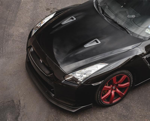 Agency Power Carbon Fiber Front Lip Nissan R35 GT-R 12-16