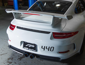 Agency Power Muffler Delete Exhaust Porsche 991 GT3 GT3RS 14-16