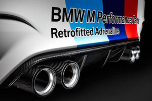 BMW M Performance F80 M3 F82 & F83 M4 Carbon Fiber Rear Diffuser