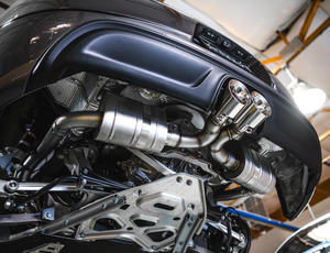 Agency Power Performance Catback Exhaust System Porsche Cayman | Boxster 718