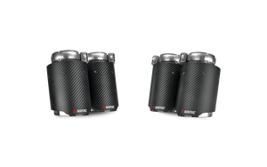 Akrapovic F80 M3 & F82/ F83 M4 Carbon Fiber Exhaust Tips