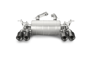 Akrapovic F80 M3 & F82/ F83 M4 Slip-on Exhaust System with Carbon Fiber Tips