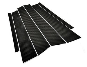 AUTOTECKNIC CARBON FIBER B & C PILLAR COVERS - BMW F30 4DR SEDAN