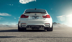 Vorsteiner GTS Carbon Fiber Rear Diffuser for BMW F8X M3/ M4
