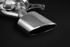 Audi RS5 (B9/F5) Valved Catback Exhaust System w MidPipes, Oval RS-Style Tips, with E2P Remote Module