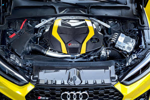 Audi RS5 (F5) - Carbon Fiber Engine Cover & Lock Cover Set