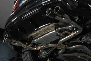 Audi RS3/TTRS - Valved Exhaust System and CES-3 (4 Round Carbon Tips)