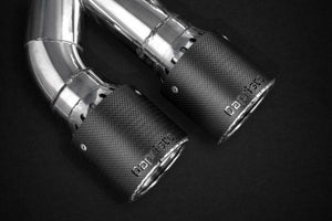 BMW F90 M5 Capristo Valved Exhaust with Carbon Fiber Tips