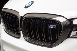 BMW m performance f90 m5 carbon fiber kidney grille