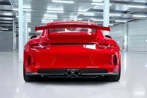 Porsche 991.1 GT3/RS - Complete Racing Valve Exhaust, Header with 200 Cell Sport Cat, & Carbon Underbody Cover (with CES-3 Remote)