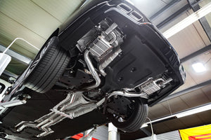 Mercedes S63 AMG (W222) 4.0 V8 BiTurbo - Valved Exhaust System & Mid-Pipes (Incl. CES-3 Remote)