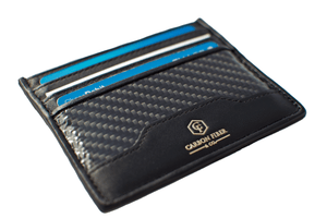 Real Carbon Fiber Men's Slim Wallet