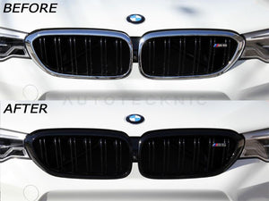 BMW F90 M5 Gloss Black Grill Surrounds by AutoTecknic