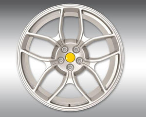 Novitec NF4 22x12 Rear Silver Forged Wheel Ferrari GTC4 Lusso 16-18