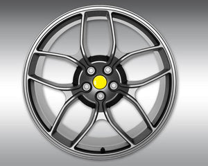 Novitec NF4 22x12 Rear Anthracite Forged Wheel Ferrari GTC4 Lusso 16-18