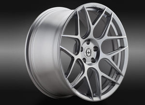 HRE FF01 Liquid Silver Flowform Wheel 20x8.5 5x120 30mm