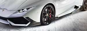 Lamborghini Huracan Carbon Fiber Side Skirts by Morph Auto Design