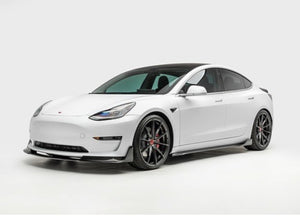 Tesla Model 3 Vorsteiner Volta Carbon Fiber Side Skirts