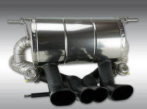 Novitec Stainless Steel Exhaust w/Flap Regulation Lamborghini Aventador S | Roadster S 17-19