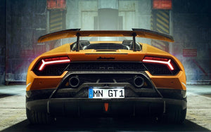 Novitec Inconel Covered Power Optimized Race Exhaust System No Flap Regulation Lamborghini Huracan Performante 2018