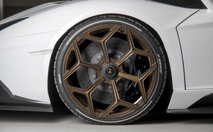 Novitec NL3 9x20 Center Lock Look Front Wheel Lamborghini Huracan Performante 2018