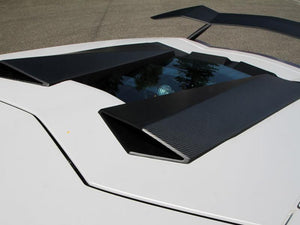 Novitec Carbon Fiber Roof Air Scoop Lamborghini Aventador 12-19