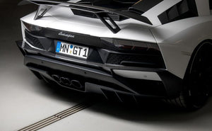 Novitec Visible Carbon Fiber Rear Bumper Attachment