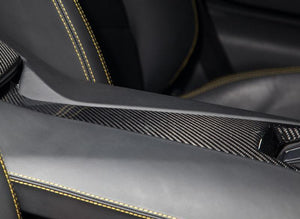 Novitec Carbon Fiber Armrest for Center Console Lamborghini Aventador 12-19