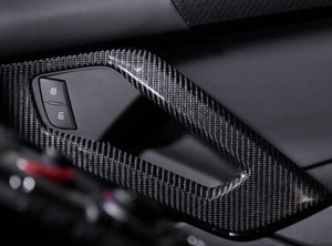 Novitec Carbon Fiber Door Handle Surrounds Lamborghini Aventador 12-19