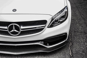 Mercedes C63S AMG W205 Sedan Front Lip Front Look