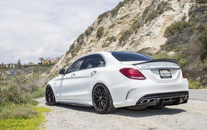 Mercedes Benz C63S AMG W205 Sedan Rear Spoiler Show