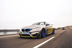 BMW F8X M3/ M4 Carbon Fiber Fang Type 3 Front Lip by Morph Auto Design