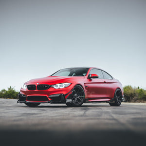 BMW F8X M3 M4 Carbon Fiber Fang Type 3 Front Lip by Morph Auto Design