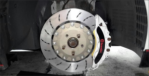 Agency Power 400x34mm Front Brake Rotor Upgrade Nissan GT-R