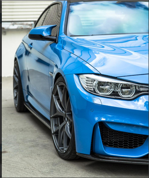 Agency Power Aeroform Carbon Fiber Side Skirt Extensions BMW F80 M3 | F82 M4 15-19