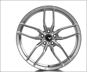 Vorsteiner V-FF 105 Flow Forged Wheel Titanium Machine 20x10.5 5x120 40