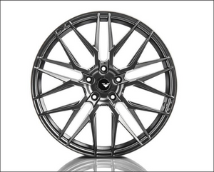 Vorsteiner V-FF 107 Flow Forged Wheel Titanium Machine 20x10 5x112 42