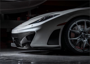 Vorsteiner V-MC Aero Front Bumper Cover with Carbon Fiber Accents McLaren MP4-12C 12-13