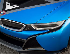 Vorsteiner VR-E Front Add On Spoiler Carbon Fiber PP 2x2 Glossy BMW i8