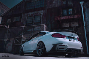 Morph Auto Design BMW F82 M4 FANG Type 1 Carbon Fiber Rear Diffuser