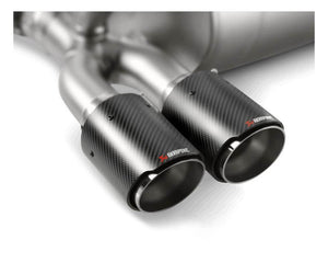 Akrapovic Evolution BMW F8X M3/ M4 Titanium Carbon Fiber Exhaust Tips