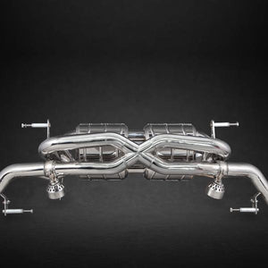 Audi R8 V10 (Pre-Facelift) X-Pipe Exhaust System (Incl. Remote)