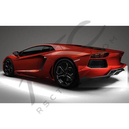 Ferrari F8 Tributo Imagined As A Spider: Aventador Carbon Fiber Rear Diffuser