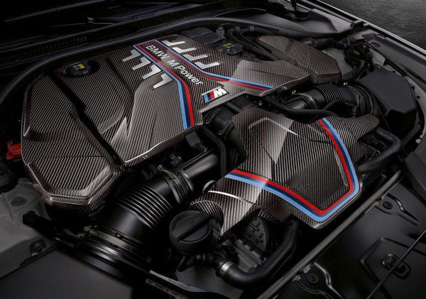 Bmw M F Engine Cover Carbon Performance X on Bmw 5 Interior Trunk Parts Deck