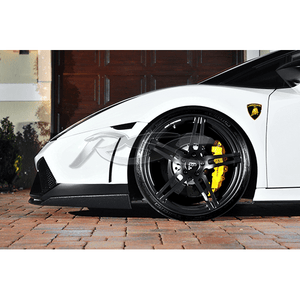 Lamborghini Gallardo LP550/ LP560 Carbon Fiber Lower Front Splitters by RSC Tuning