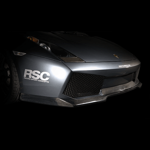 Gallardo Carbon Fiber Front Lip by RSC Tuning